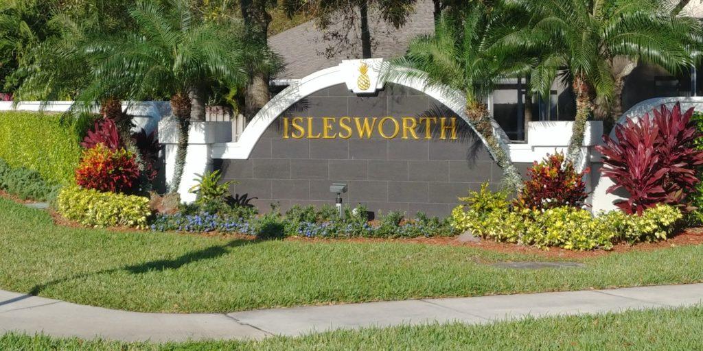 Islesworth Sign
