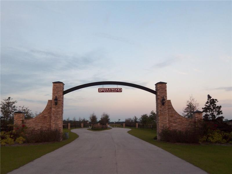 Bridlewood Ranches Entrance
