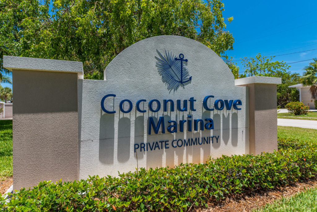 Coconut Cove sign