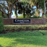 Covington Park Sign