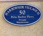 Harborside Village Sign