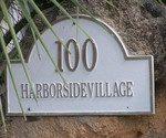 100 Harborside Village Sign