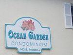Ocean Garden Condominiums Sign