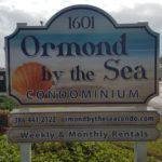 Ormond by the Sea Condominiums Sign
