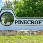 Pinecroft Sign