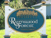 Ravenswood Forest Sign