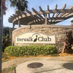 Riverwalk Club Sign