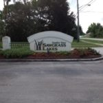 Sawgrass Lakes Sign