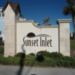 Sunset Inlet Sign