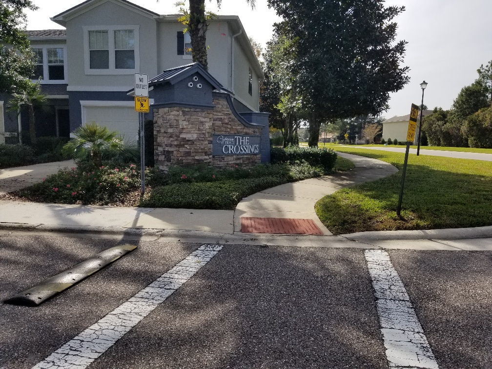 The Crossings Community Sign