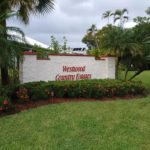 Westwood Country Estates Sign