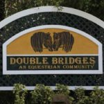 Double Bridges Equestrian Community Sign