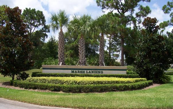 Marsh Landing Sign